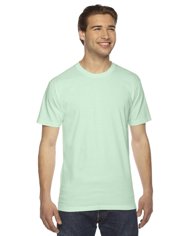 American Apparel Unisex Fine Jersey Short-Sleeve T-Shirt LIME