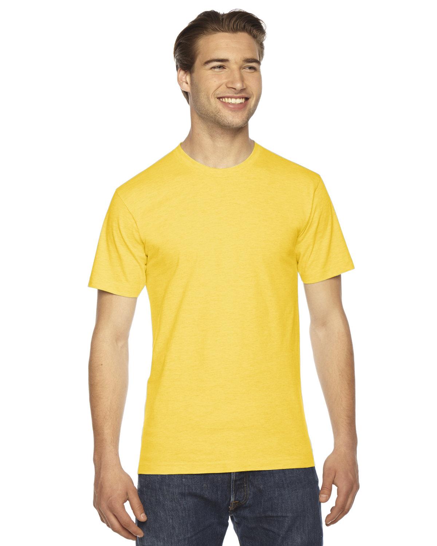 American Apparel Unisex Fine Jersey Short-Sleeve T-Shirt SUNSHINE