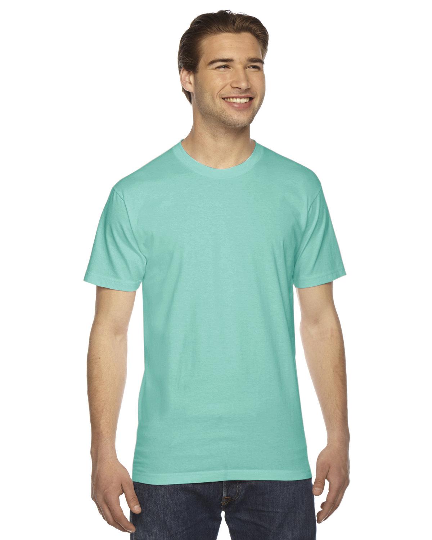American Apparel Unisex Fine Jersey Short-Sleeve T-Shirt MINT