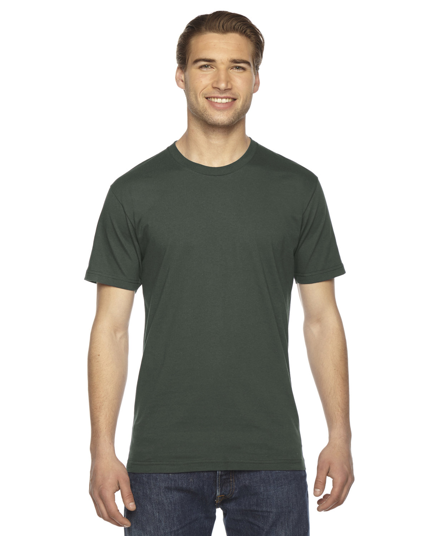 American Apparel Unisex Fine Jersey Short-Sleeve T-Shirt LIEUTENANT