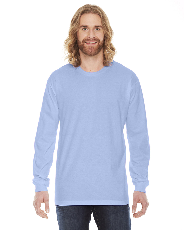 American Apparel Unisex Fine Jersey Long-Sleeve T-Shirt BABY BLUE