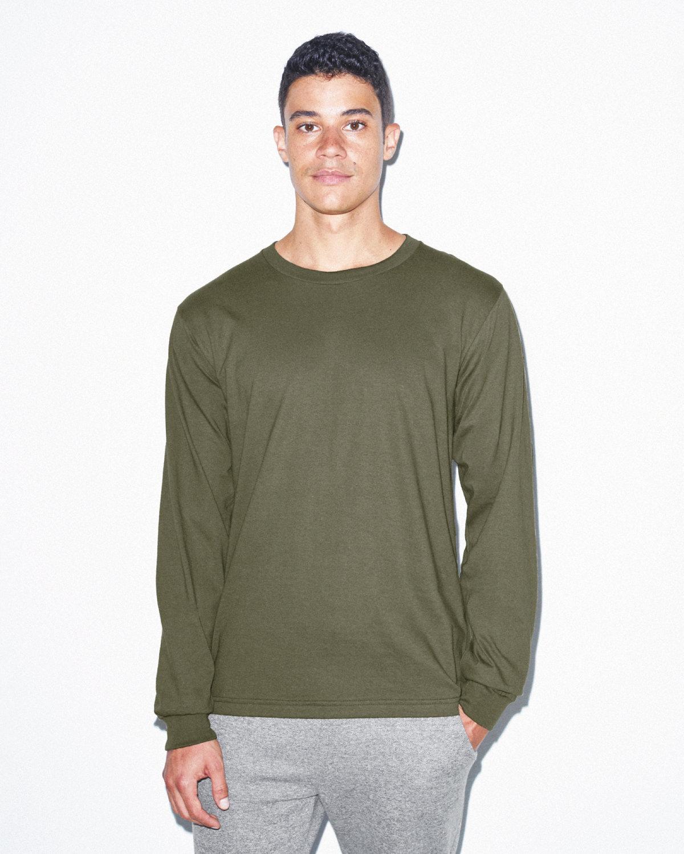 American Apparel Unisex Fine Jersey Long-Sleeve T-Shirt LIEUTENANT