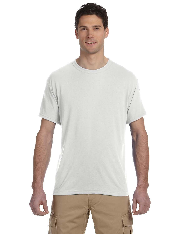 Jerzees Adult DRI-POWER® SPORT Poly T-Shirt WHITE
