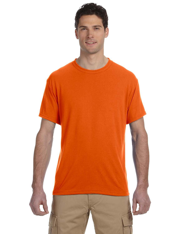 Jerzees Adult DRI-POWER® SPORT Poly T-Shirt SAFETY ORANGE