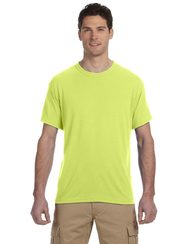 Jerzees Adult DRI-POWER® SPORT Poly T-Shirt SAFETY GREEN