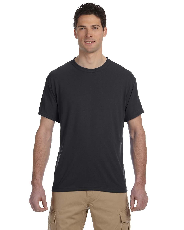 Jerzees Adult DRI-POWER® SPORT Poly T-Shirt CHARCOAL GREY