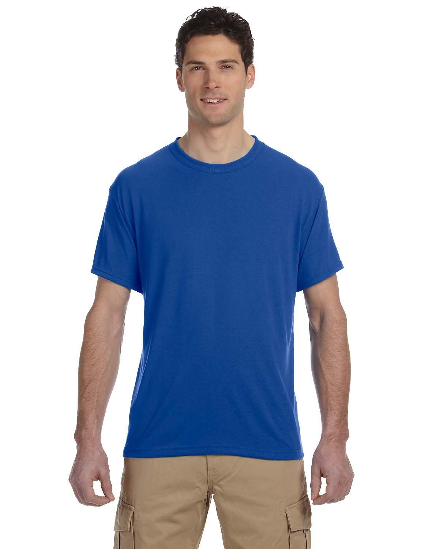 Jerzees Adult DRI-POWER® SPORT Poly T-Shirt ROYAL