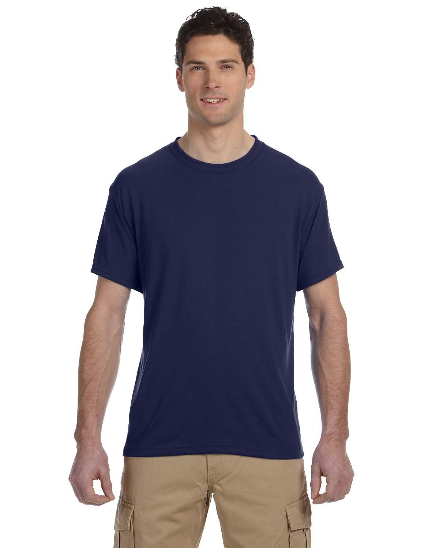 Jerzees Adult DRI-POWER® SPORT Poly T-Shirt J NAVY