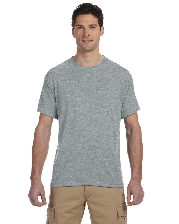 Jerzees Adult DRI-POWER® SPORT Poly T-Shirt ATHLETIC HEATHER