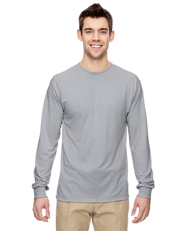 Jerzees Adult DRI-POWER® SPORT Long-Sleeve T-Shirt SILVER