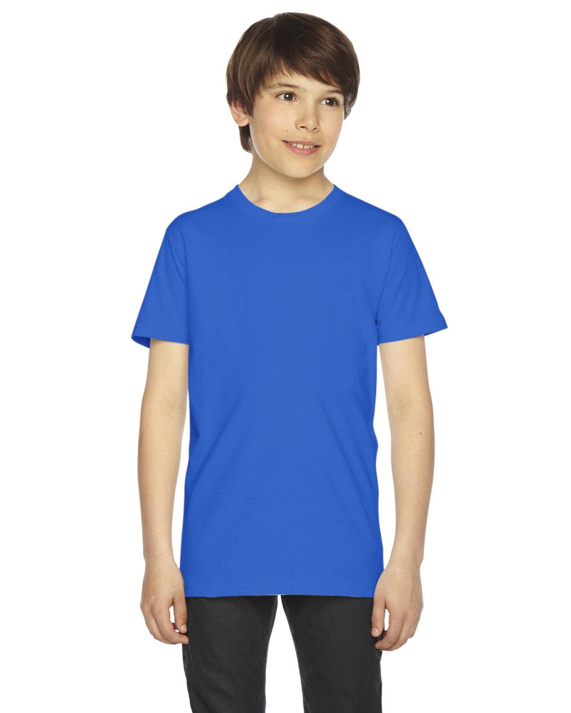 American Apparel Youth Fine Jersey Short-Sleeve T-Shirt ROYAL BLUE