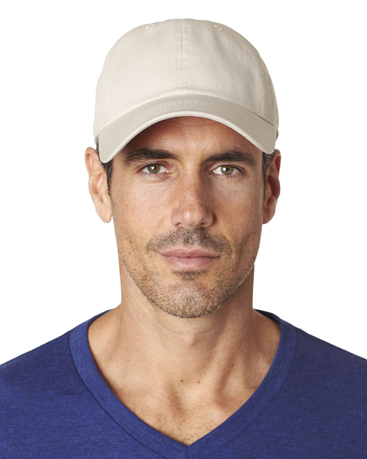 Hall of Fame Medium-Weight 6-Panel Cap STONE