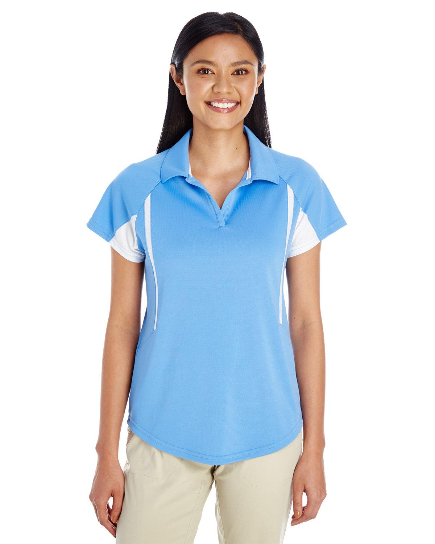 Holloway Ladies' Avenger Polo UNVRST BLUE/ WHT