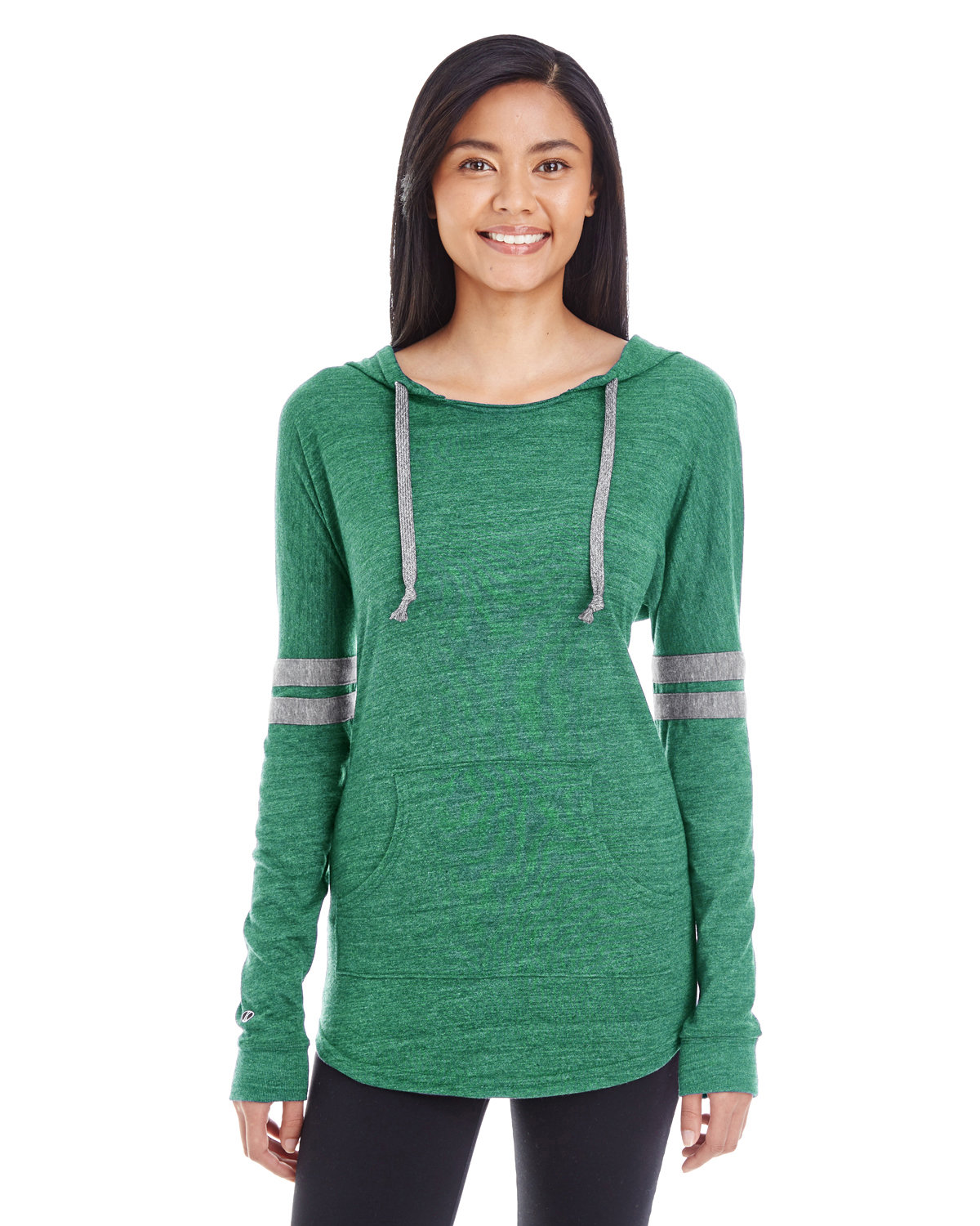 Holloway Ladies' Hooded Low Key Pullover VIN FOR/ VIN GRY