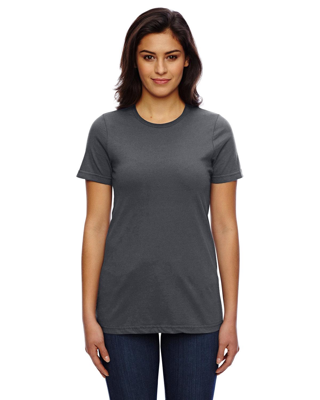 American Apparel Ladies' Classic T-Shirt ASPHALT