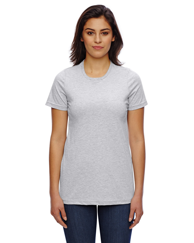 American Apparel Ladies' Classic T-Shirt HEATHER GREY