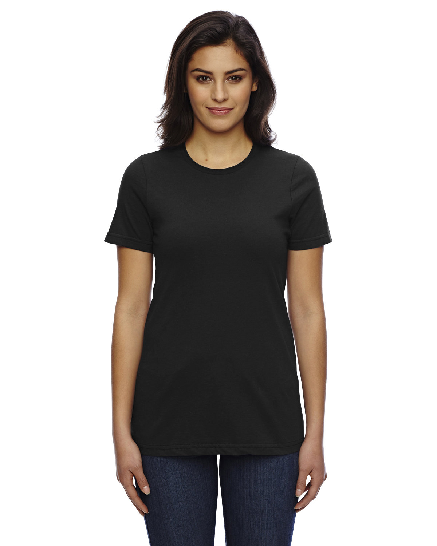 American Apparel Ladies' Classic T-Shirt BLACK