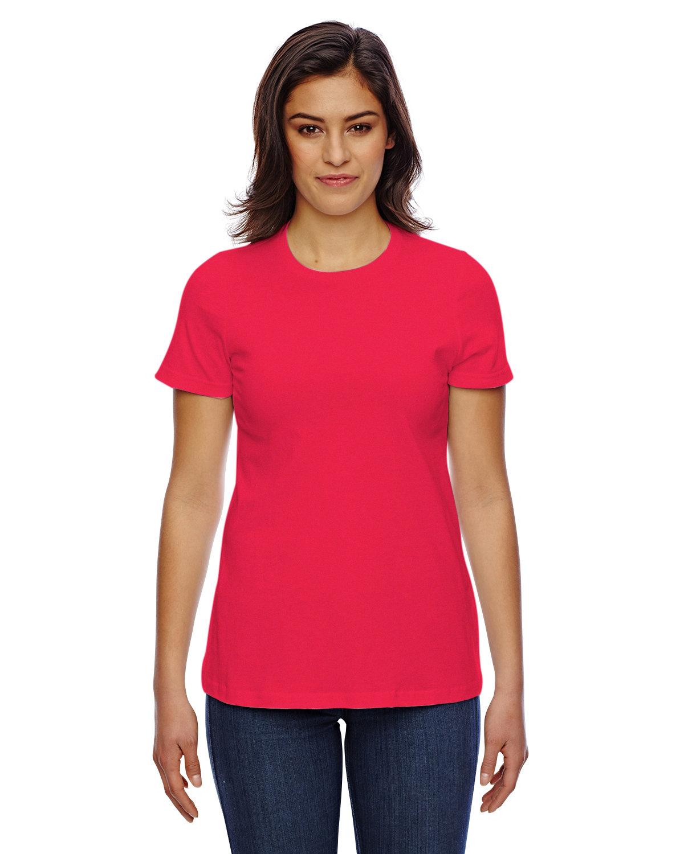 American Apparel Ladies' Classic T-Shirt RED