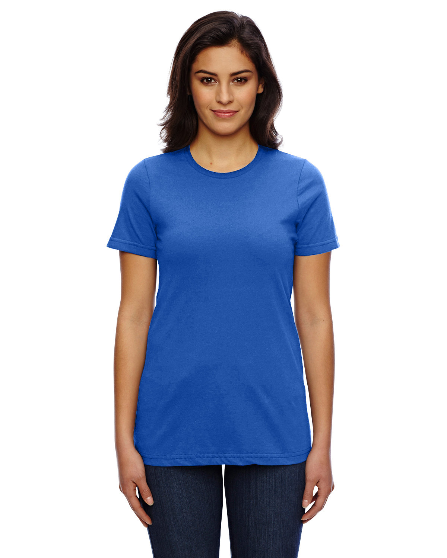 American Apparel Ladies' Classic T-Shirt ROYAL BLUE
