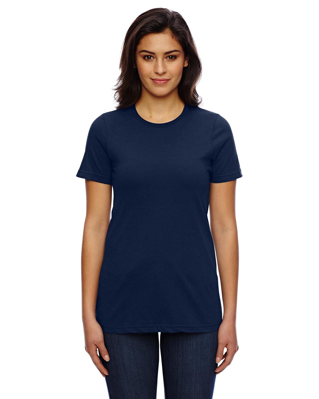 American Apparel Ladies' Classic T-Shirt NAVY