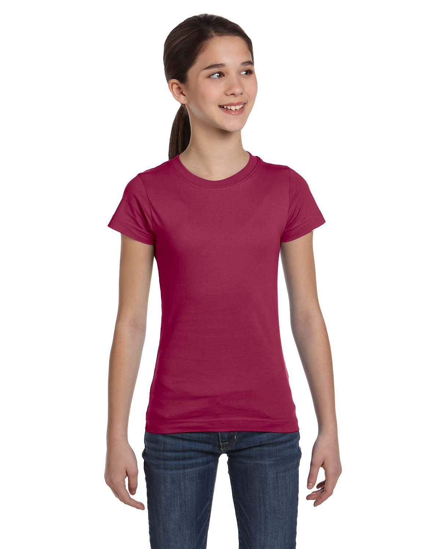 LAT Girls' Fine Jersey T-Shirt CHILL