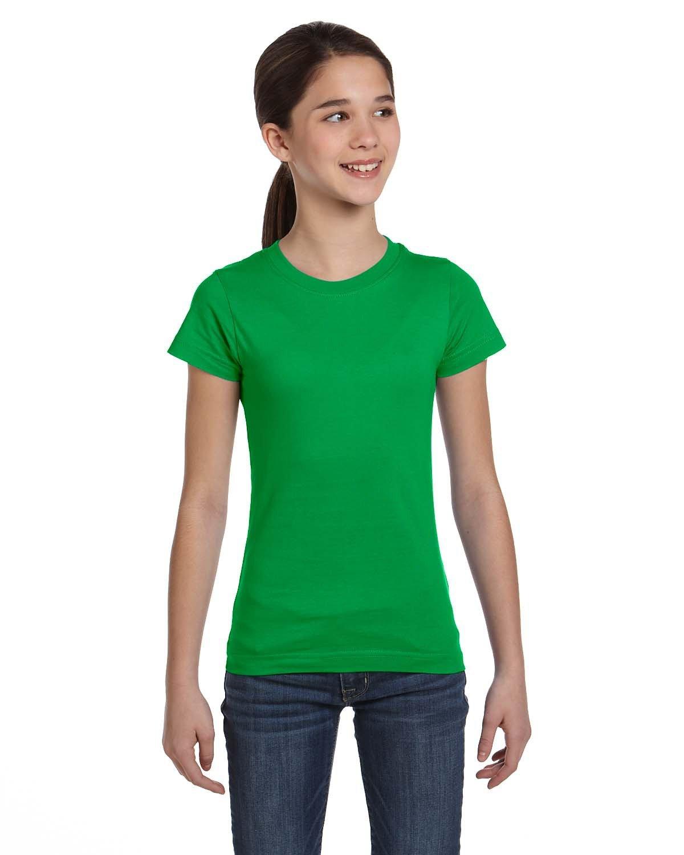 LAT Girls' Fine Jersey T-Shirt KELLY