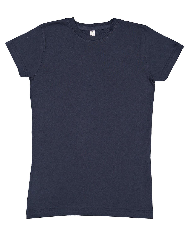 LAT Girls' Fine Jersey T-Shirt VINTAGE NAVY