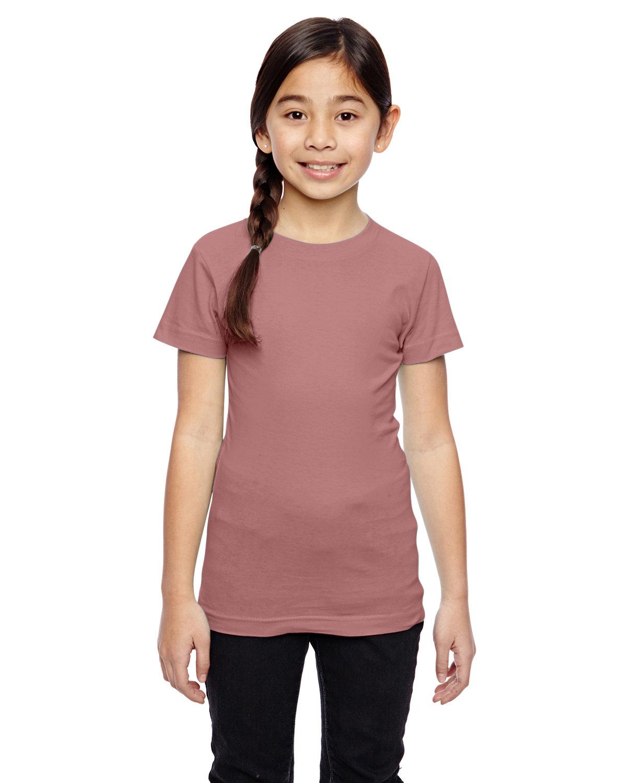 LAT Girls' Fine Jersey T-Shirt MAUVELOUS
