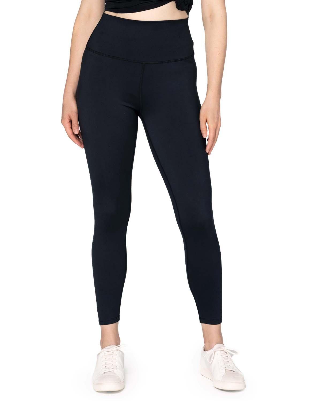 Threadfast Apparel Ladies' Impact Leggings BLACK
