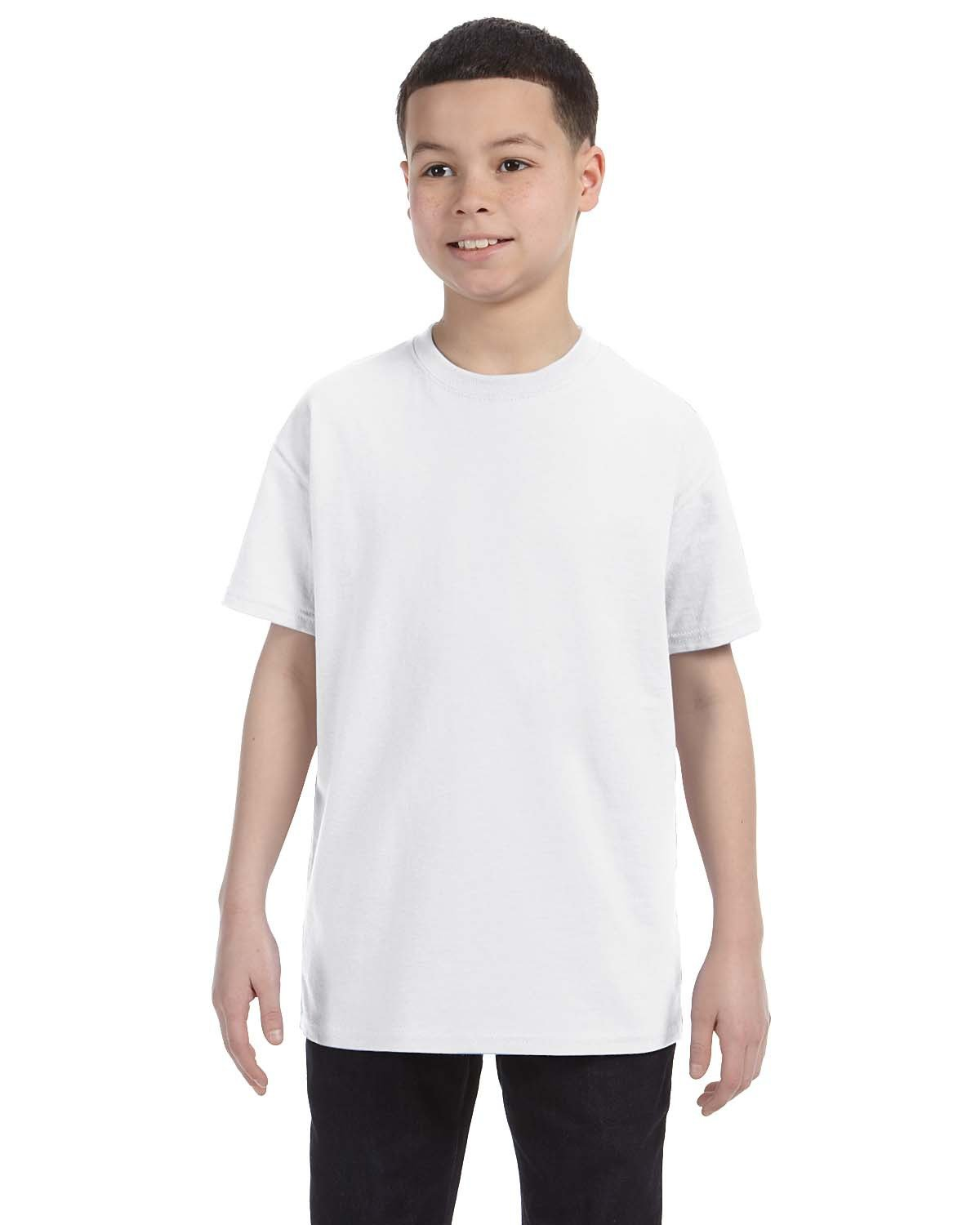 Jerzees Youth DRI-POWER® ACTIVE T-Shirt WHITE