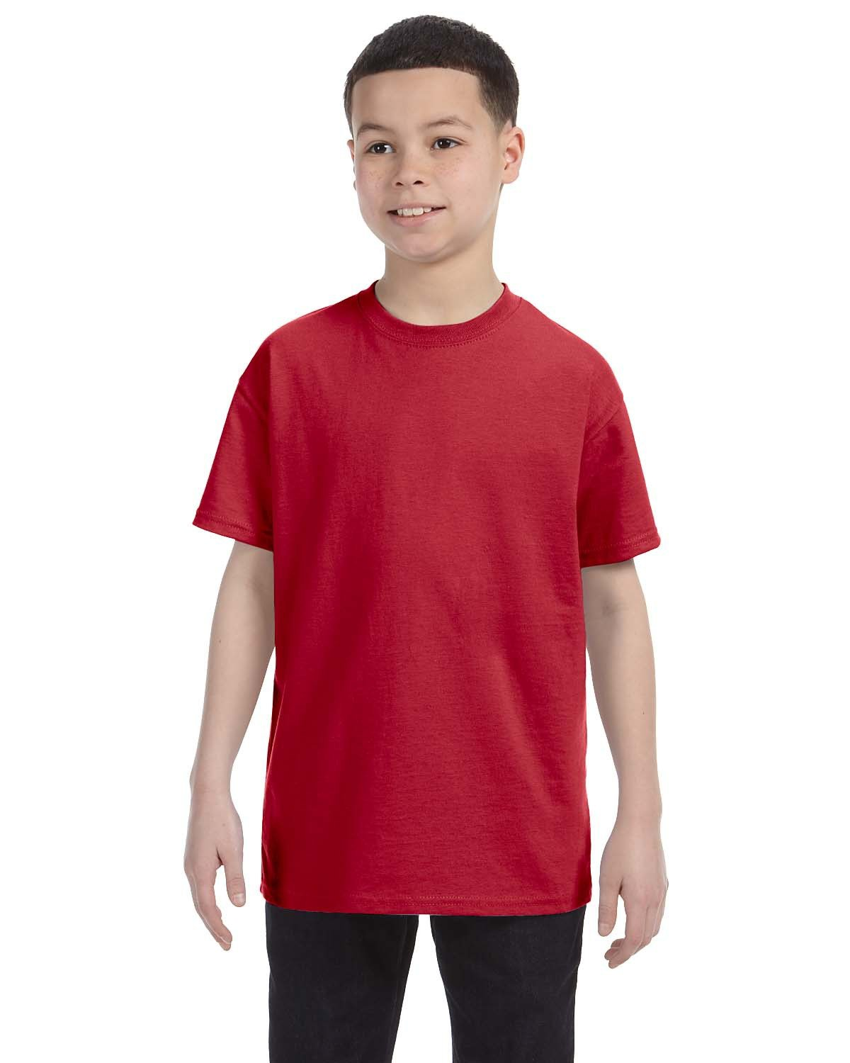 Jerzees Youth DRI-POWER® ACTIVE T-Shirt TRUE RED