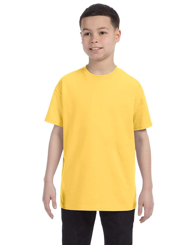 Jerzees Youth DRI-POWER® ACTIVE T-Shirt ISLAND YELLOW