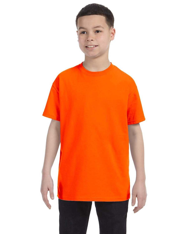 Jerzees Youth DRI-POWER® ACTIVE T-Shirt SAFETY ORANGE