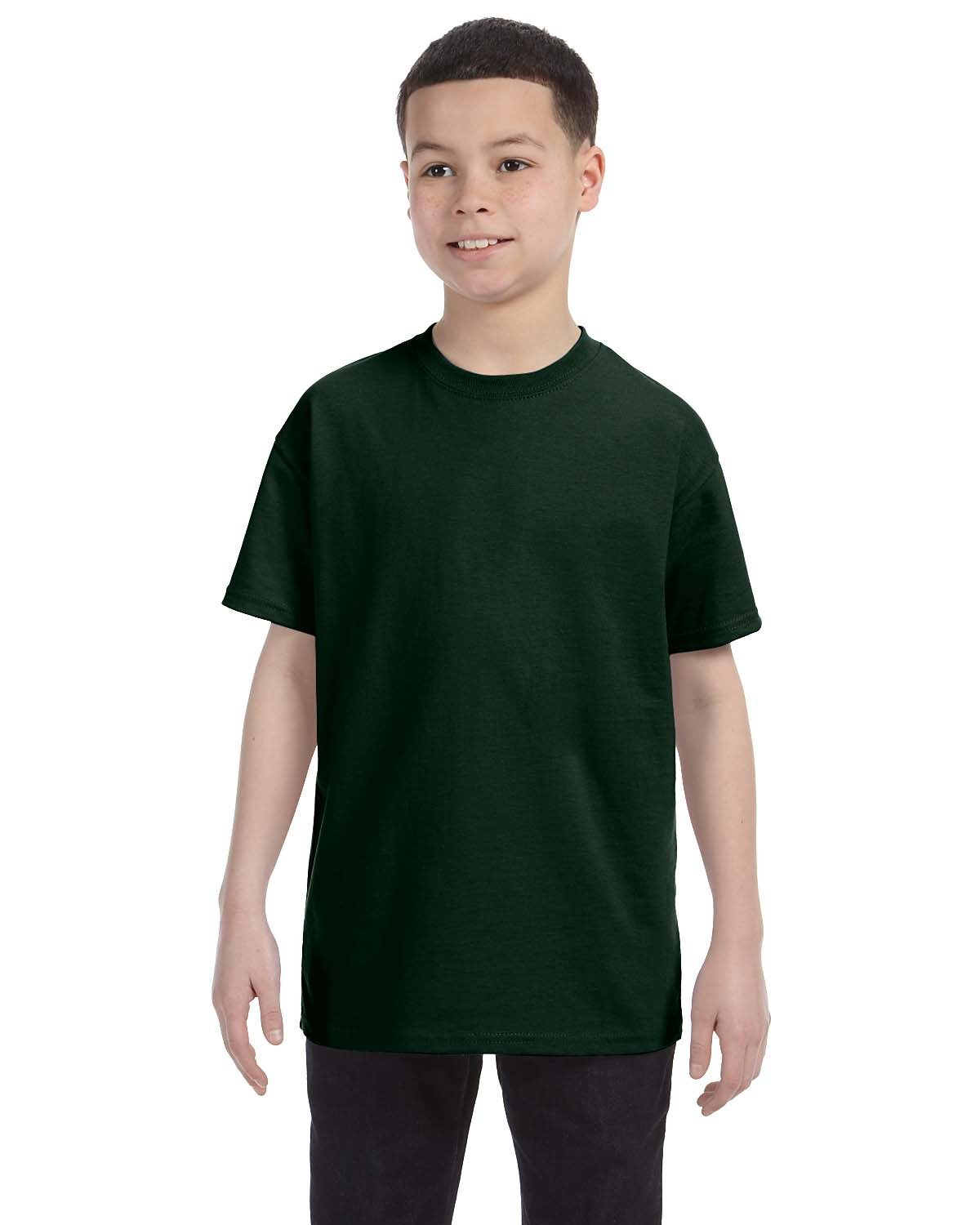 Jerzees Youth DRI-POWER® ACTIVE T-Shirt FOREST GREEN