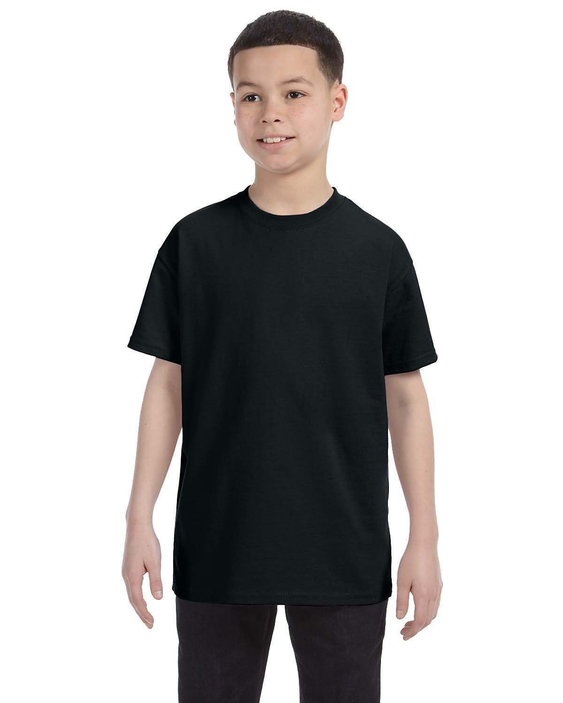 Jerzees Youth DRI-POWER® ACTIVE T-Shirt BLACK