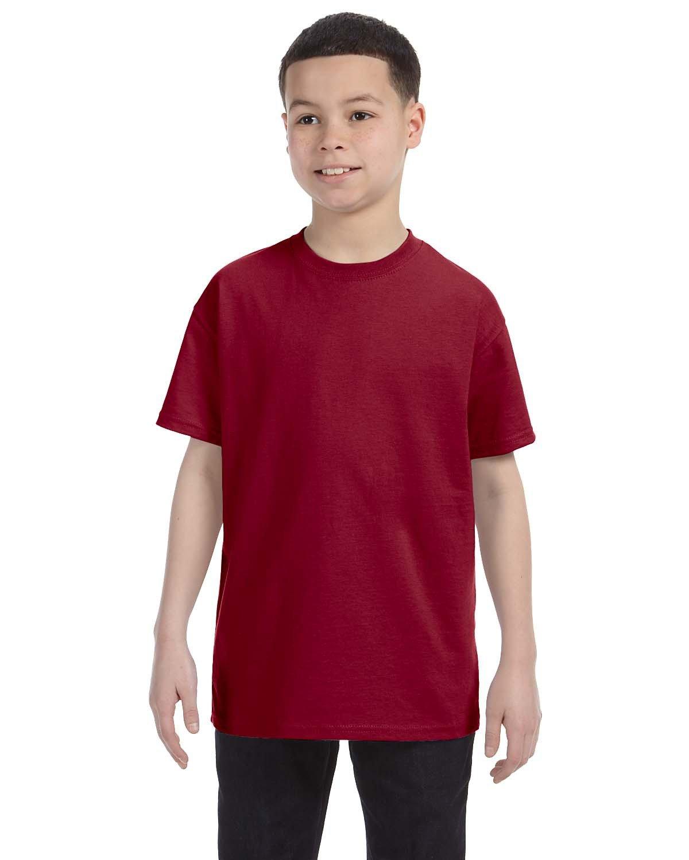 Jerzees Youth DRI-POWER® ACTIVE T-Shirt CARDINAL