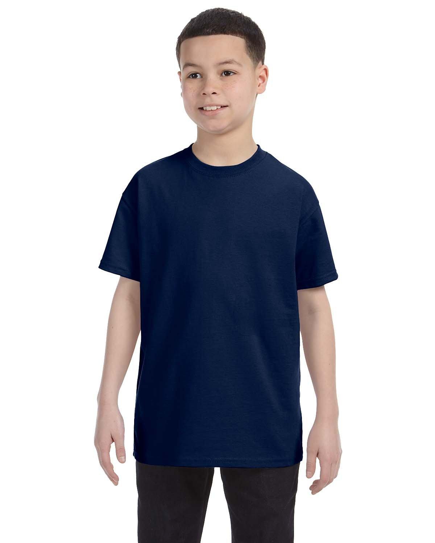 Jerzees Youth DRI-POWER® ACTIVE T-Shirt J NAVY