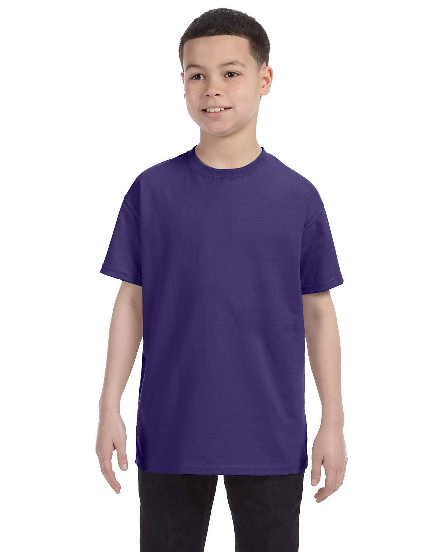 Jerzees Youth DRI-POWER® ACTIVE T-Shirt DEEP PURPLE