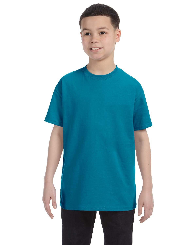 Jerzees Youth DRI-POWER® ACTIVE T-Shirt CALIFORNIA BLUE