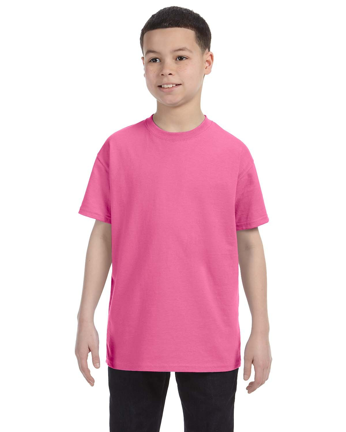 Jerzees Youth DRI-POWER® ACTIVE T-Shirt NEON PINK