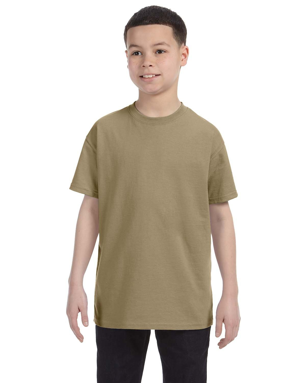 Jerzees Youth DRI-POWER® ACTIVE T-Shirt KHAKI