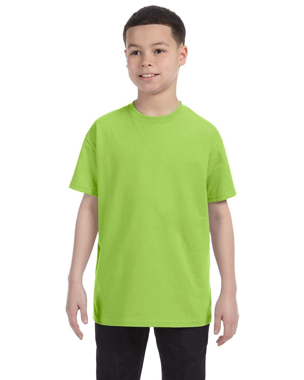 Jerzees Youth DRI-POWER® ACTIVE T-Shirt NEON GREEN