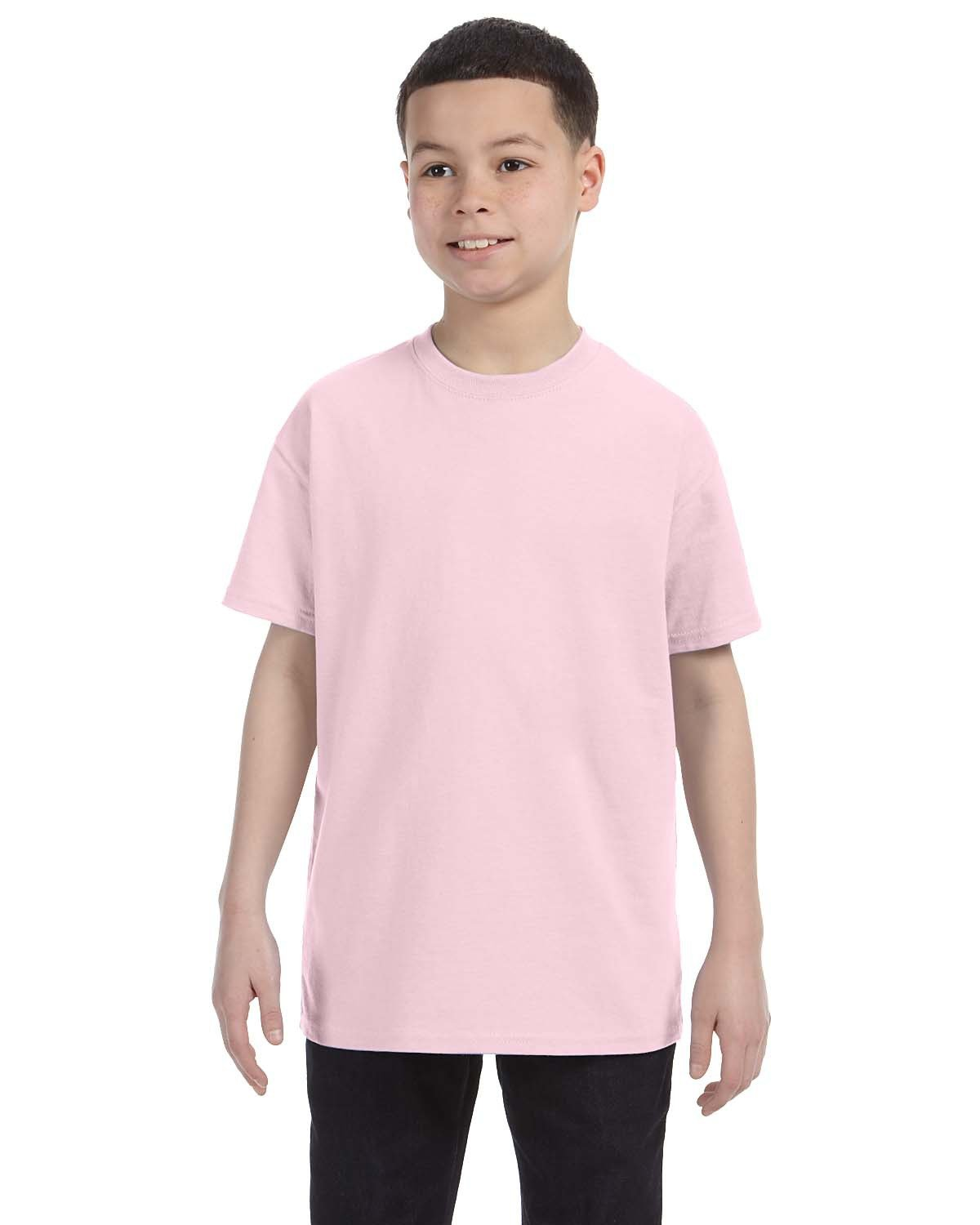 Jerzees Youth DRI-POWER® ACTIVE T-Shirt CLASSIC PINK
