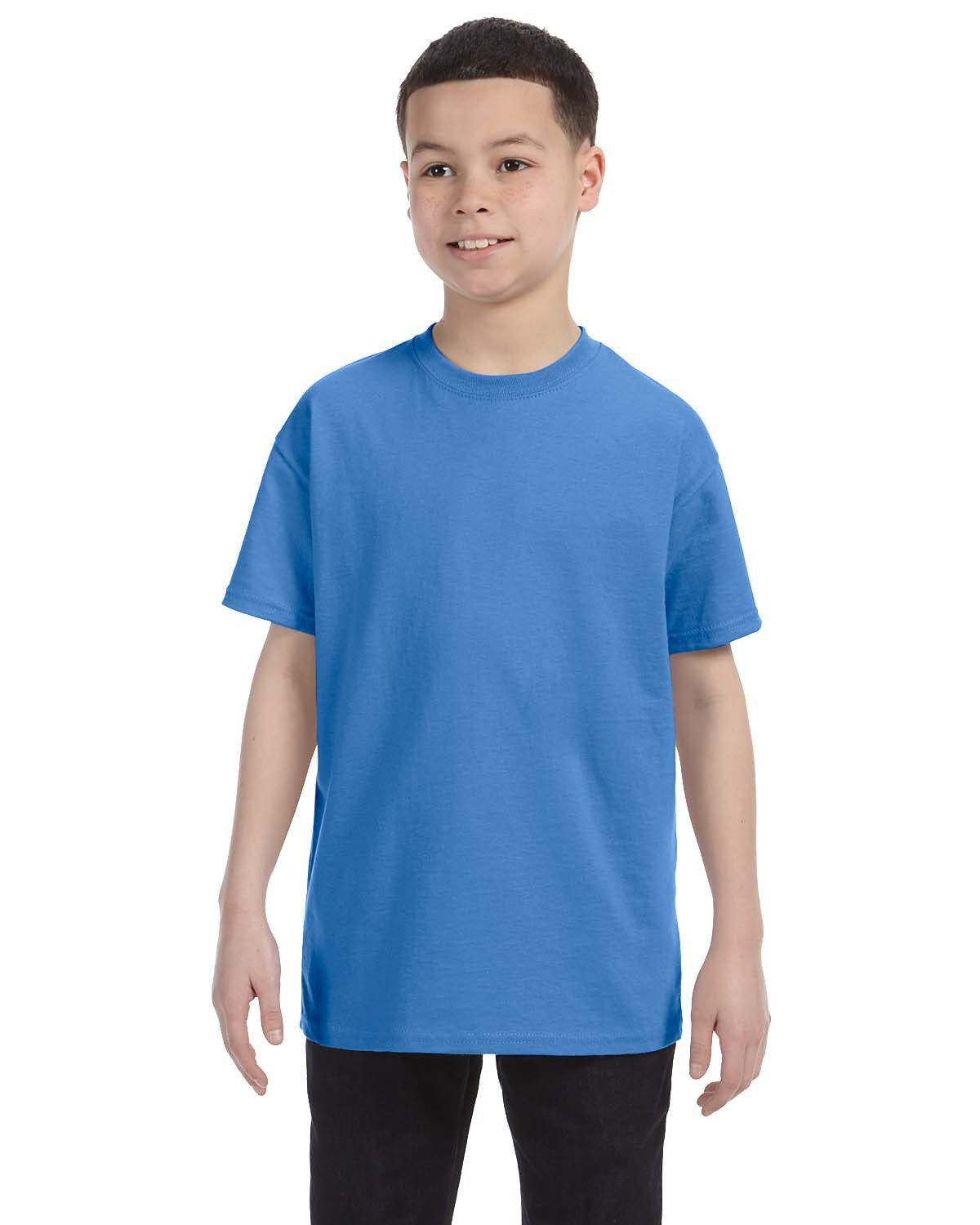 Jerzees Youth DRI-POWER® ACTIVE T-Shirt COLUMBIA BLUE