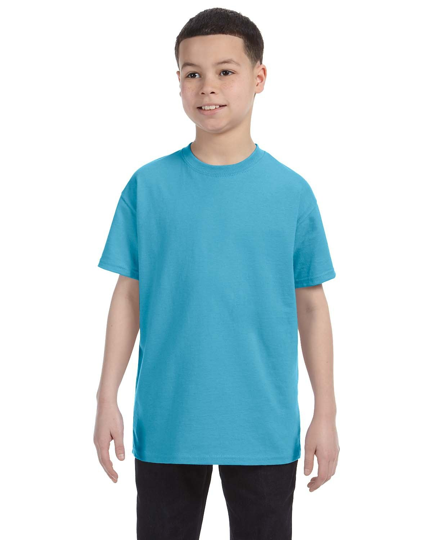 Jerzees Youth DRI-POWER® ACTIVE T-Shirt AQUATIC BLUE