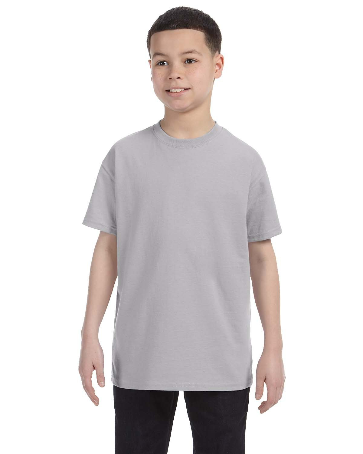 Jerzees Youth DRI-POWER® ACTIVE T-Shirt SILVER
