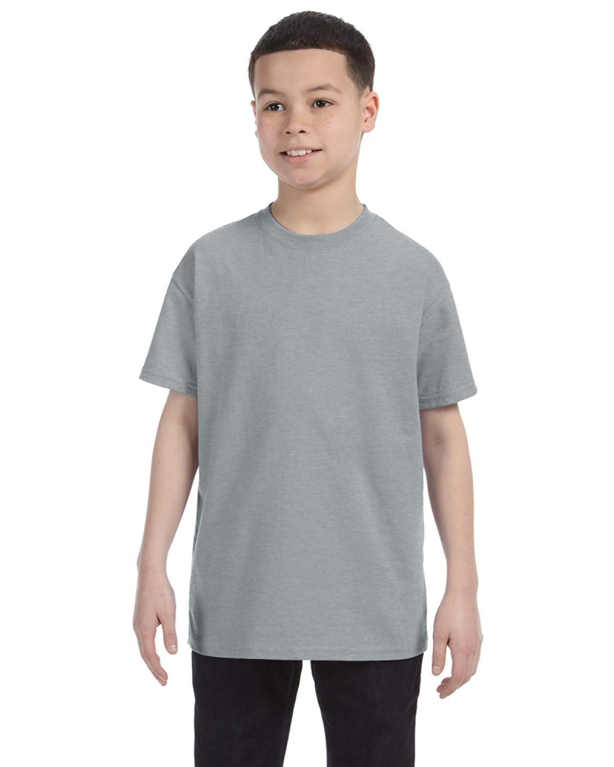 Jerzees Youth DRI-POWER® ACTIVE T-Shirt ATHLETIC HEATHER