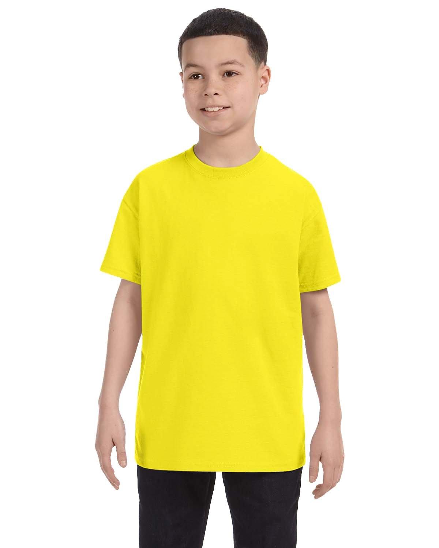 Jerzees Youth DRI-POWER® ACTIVE T-Shirt NEON YELLOW