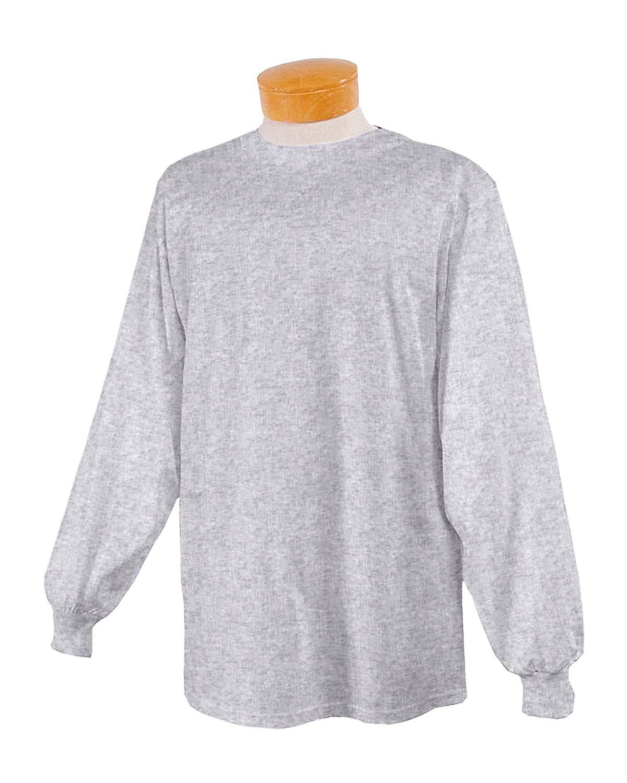 Jerzees Youth DRI-POWER® ACTIVE Long-Sleeve T-Shirt ASH