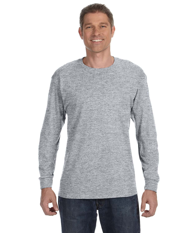 Jerzees Adult DRI-POWER® ACTIVE Long-Sleeve T-Shirt OXFORD